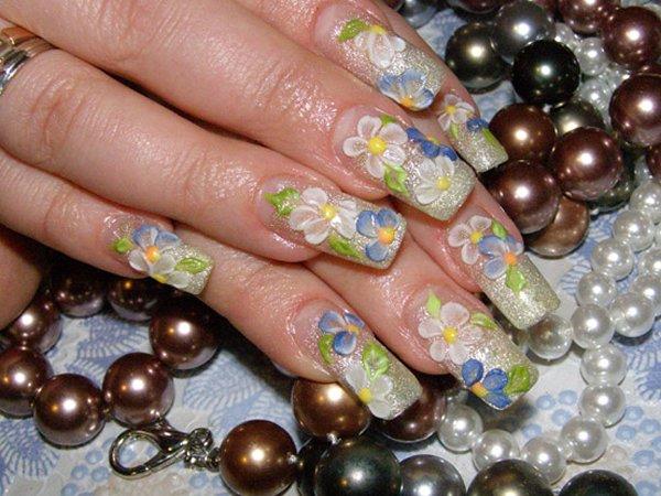 Правильный маникюр ногти фото весна