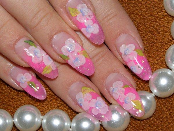 Ногти ногти на лето леопардовые ногти