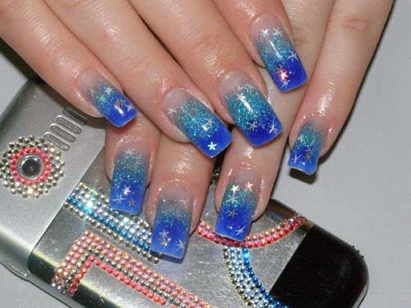 Ногти гель на формах красивые ногти