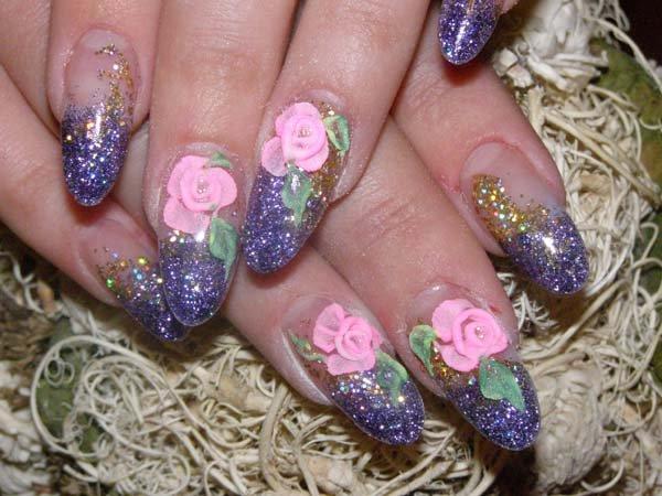 Дизайн ногтей на овальные ногти фото