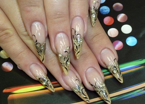 новые дизайны ногтей фото: