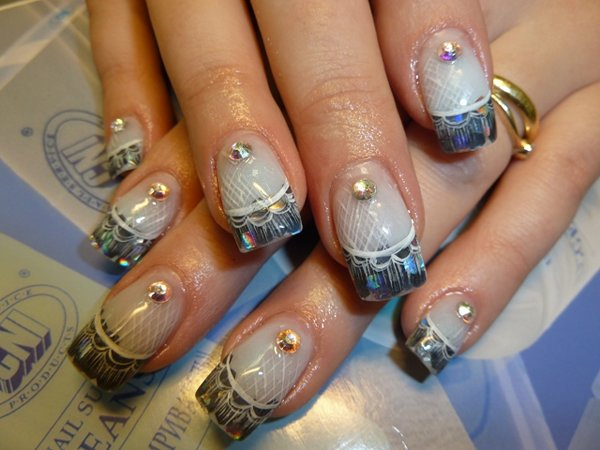 Художественная роспись на ногтях бесплатно