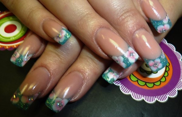 Акриловые ногти в домашних условиях
