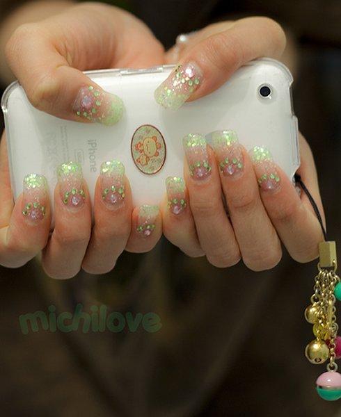 Аквариума дизайн ногтей