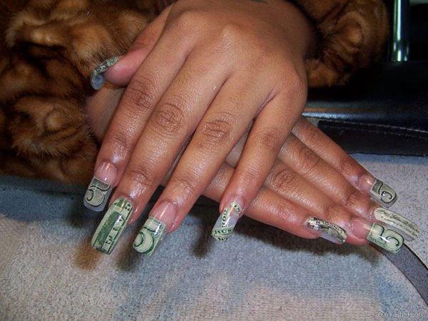 фото нарощенных ногтей гелем квадратные