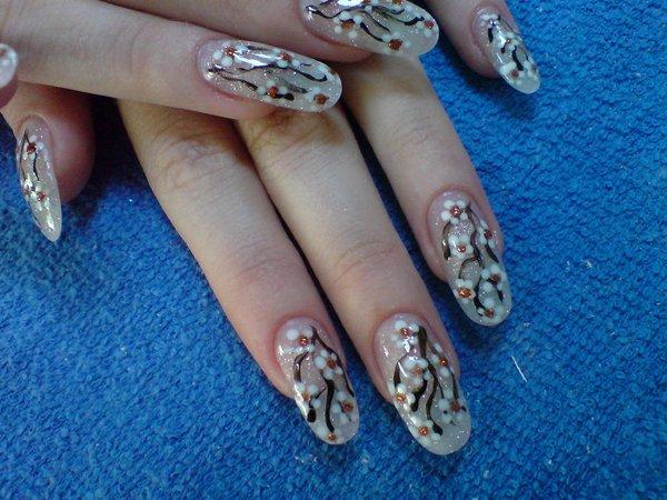Найти ногти дизайн натуральных