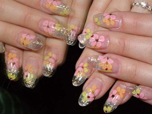 Фото ногтей нарощенных классных