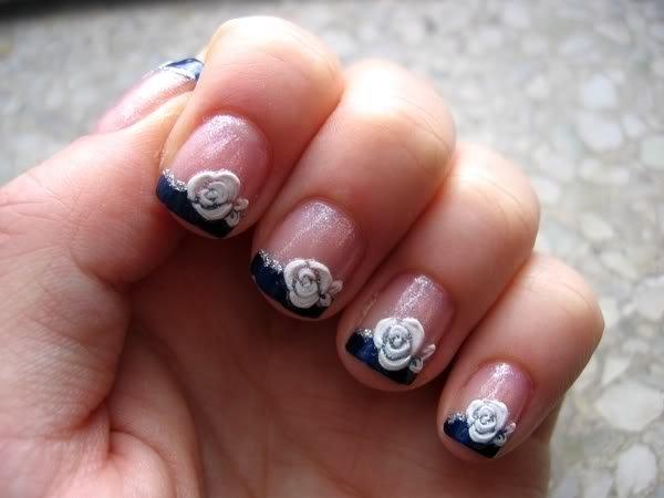 дизайн ногтей на формах: