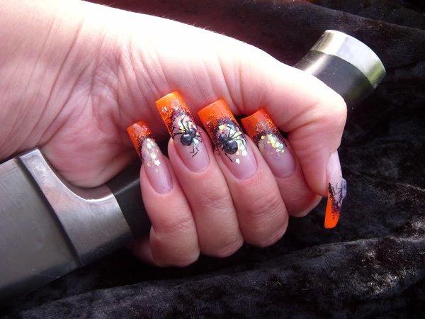 Весна цветной гель для ногтей ногти