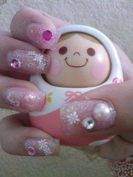 Самые красивые нарощенные ногти фото