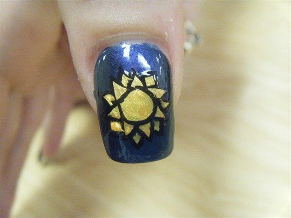 Ногтей ногти золотые дизайн ногтей