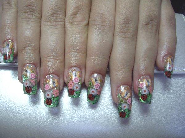 Наращивание ногтей дизайны красивые фото