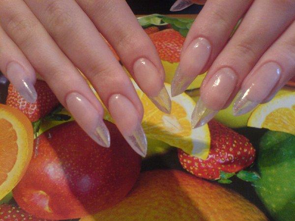 Свадебный дизайн на своих ногтях