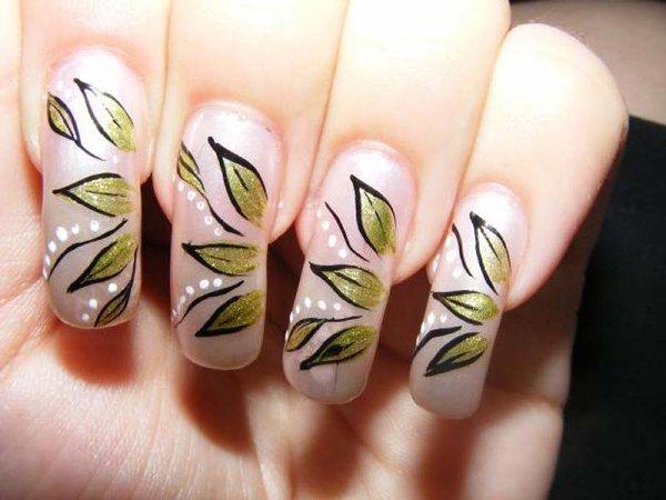 Черные ногти фото био ногти техника